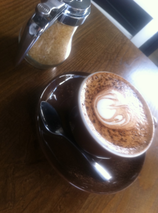 Food from London : Coffee, Flat White.