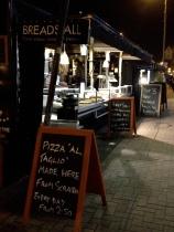 Bread stall at Northcote road market