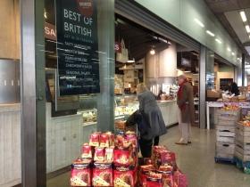 sourced Market St Pancras Station