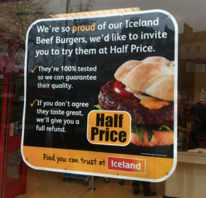 So where does the beef in Iceland beef burgers actually come from?